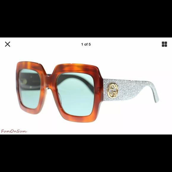 518dc7680ea7 Gucci Accessories | Gg0102 Womens Oversize Sunglasses | Poshmark